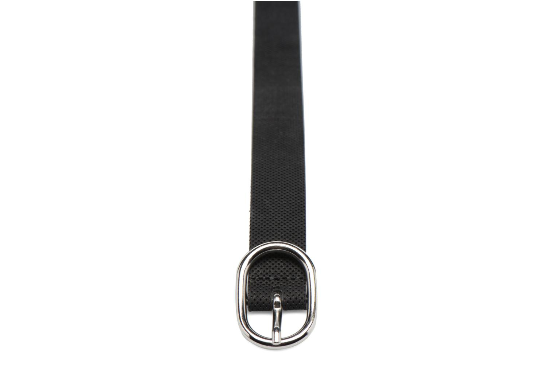 Ceintures Esprit Perforated Leather Belt 25mm Noir vue portées chaussures