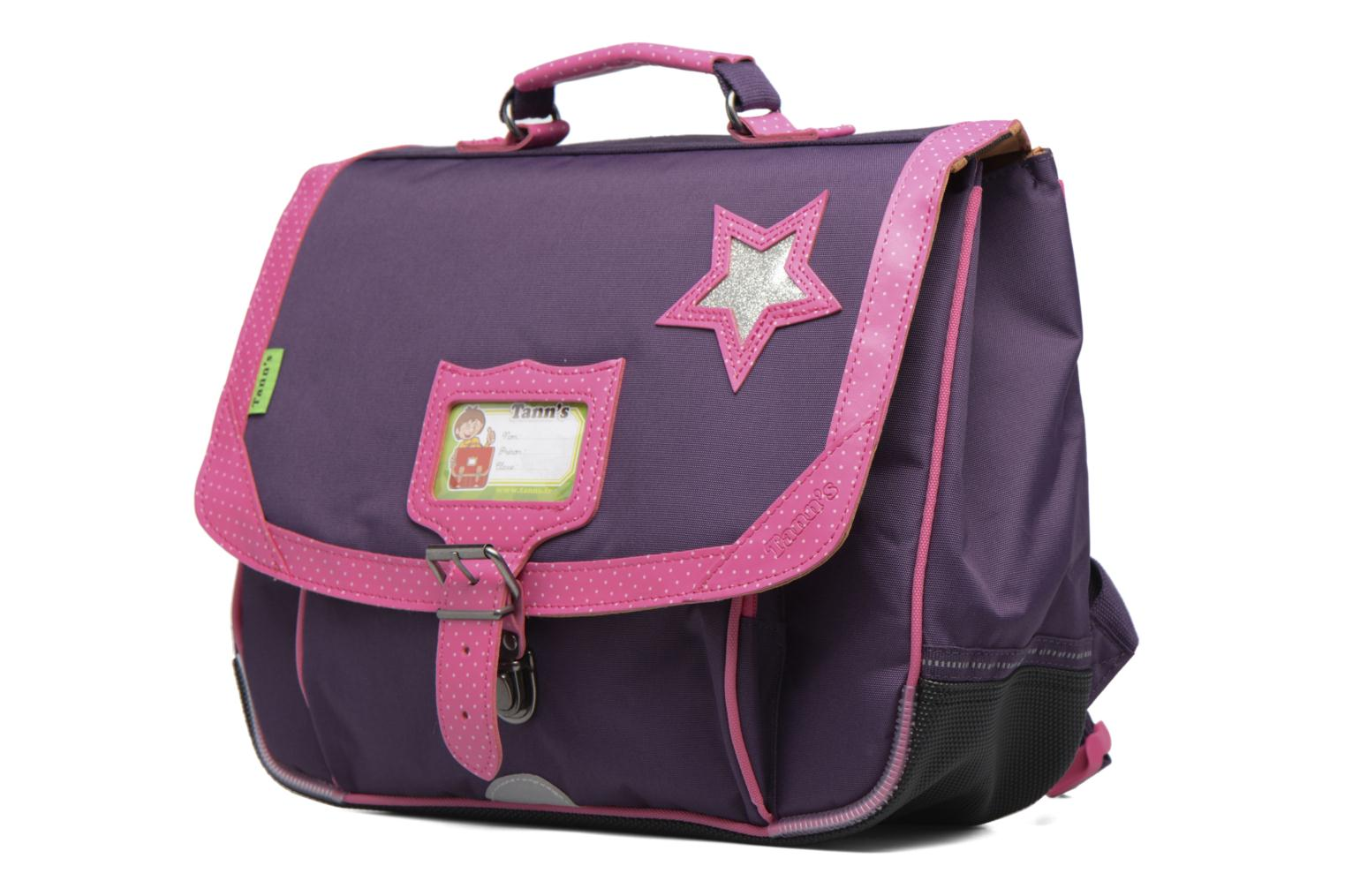 Cartable 35cm Star Prune