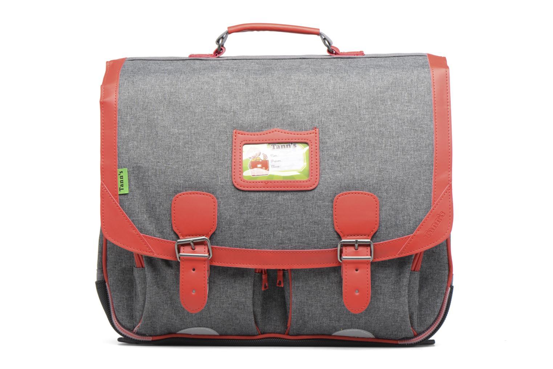 Cartable 41cm Classic Gris chiné/rouge