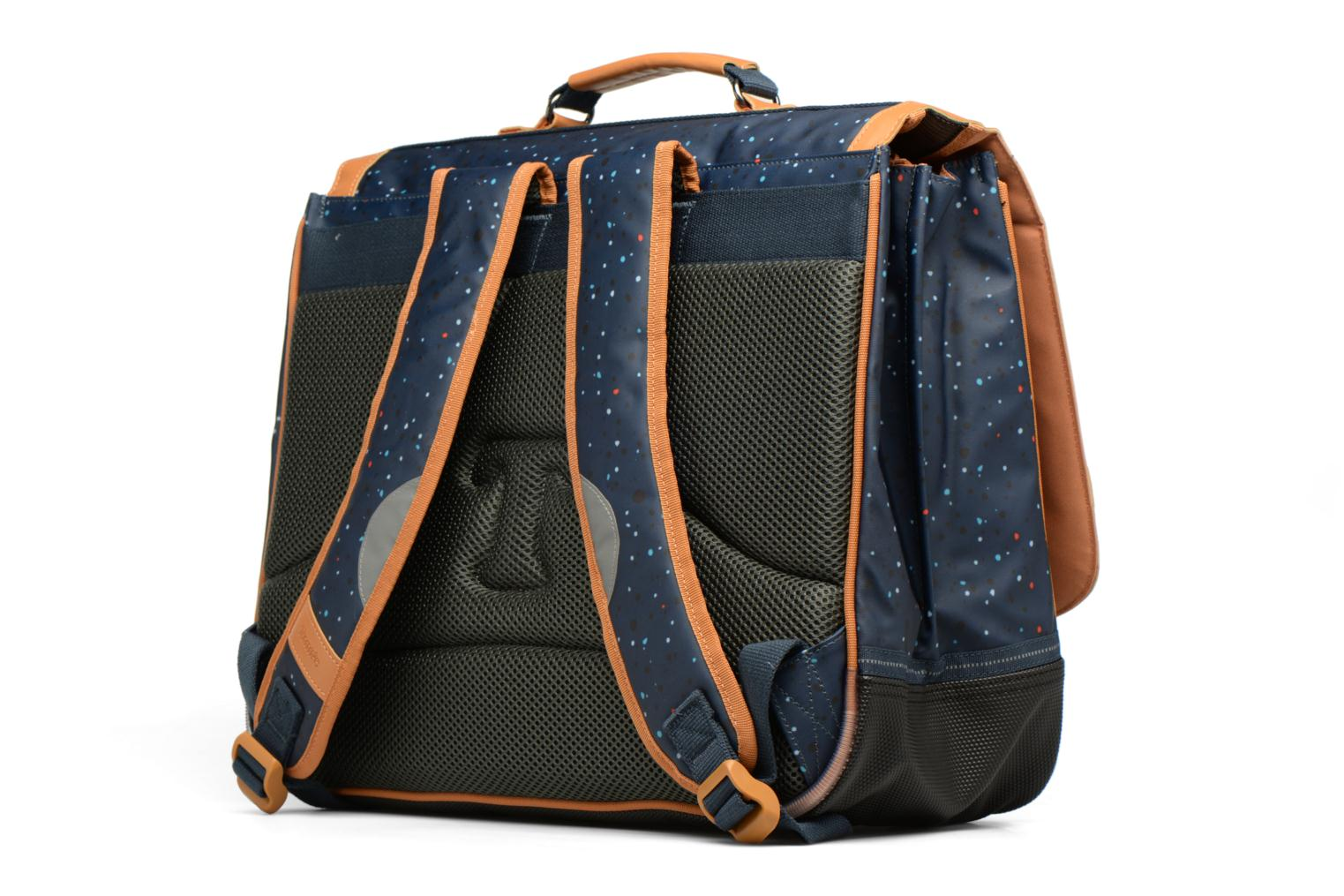 Cartable 41cm Galaxy Bleu