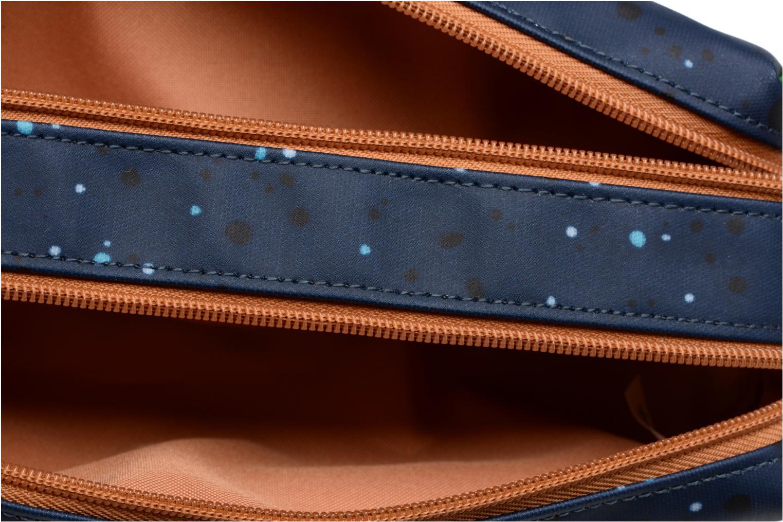 Scolaire Tann's Trousse double Galaxy Bleu vue derrière