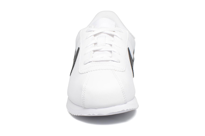 Deportivas Nike Cortez Basic Sl (Ps) Blanco vista del modelo