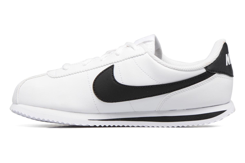 Deportivas Nike Cortez Basic Sl (Ps) Blanco vista de frente