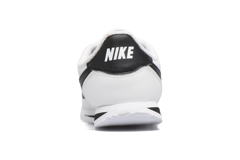 Deportivas Nike Cortez Basic Sl (Ps) Blanco vista lateral derecha
