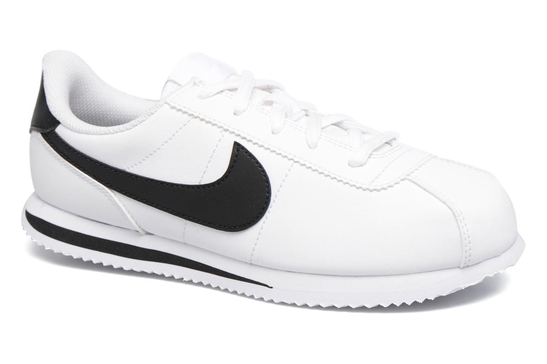 Deportivas Nike Cortez Basic Sl (Ps) Blanco vista de detalle / par