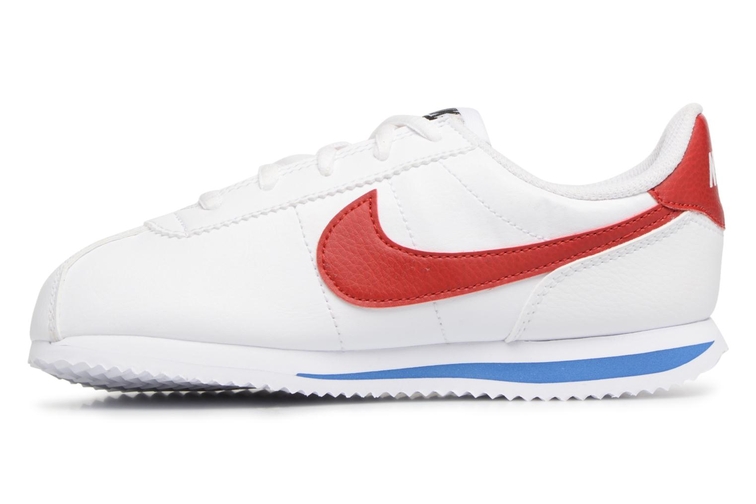 ... White/Varsity Red-Varsity Royal-Black Nike Cortez Basic Sl (Ps) ...