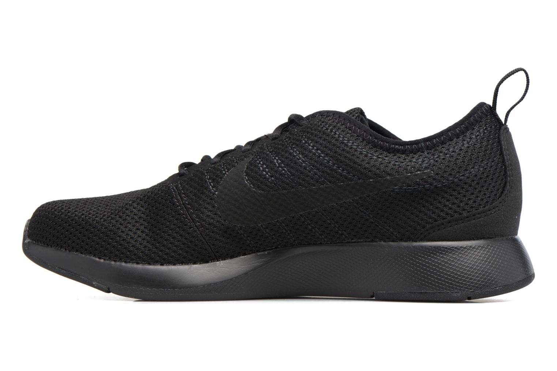 Sneakers Nike Nike Dualtone Racer (Gs) Nero immagine frontale