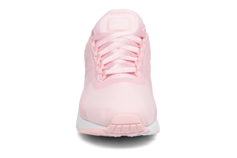 Baskets Nike Nike Air Max Zero Se (Gs) Rose vue portées chaussures