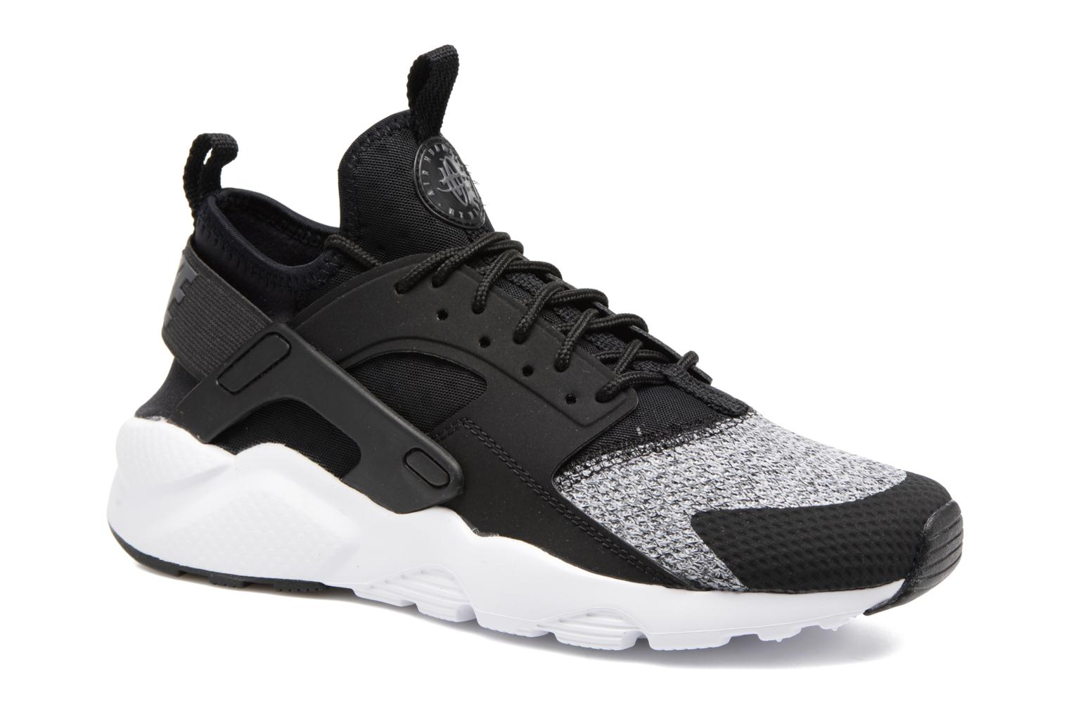 Black/Anthracite-White-Wolf Grey Nike Air Huarache Run Ultra Se (Gs) (Noir)