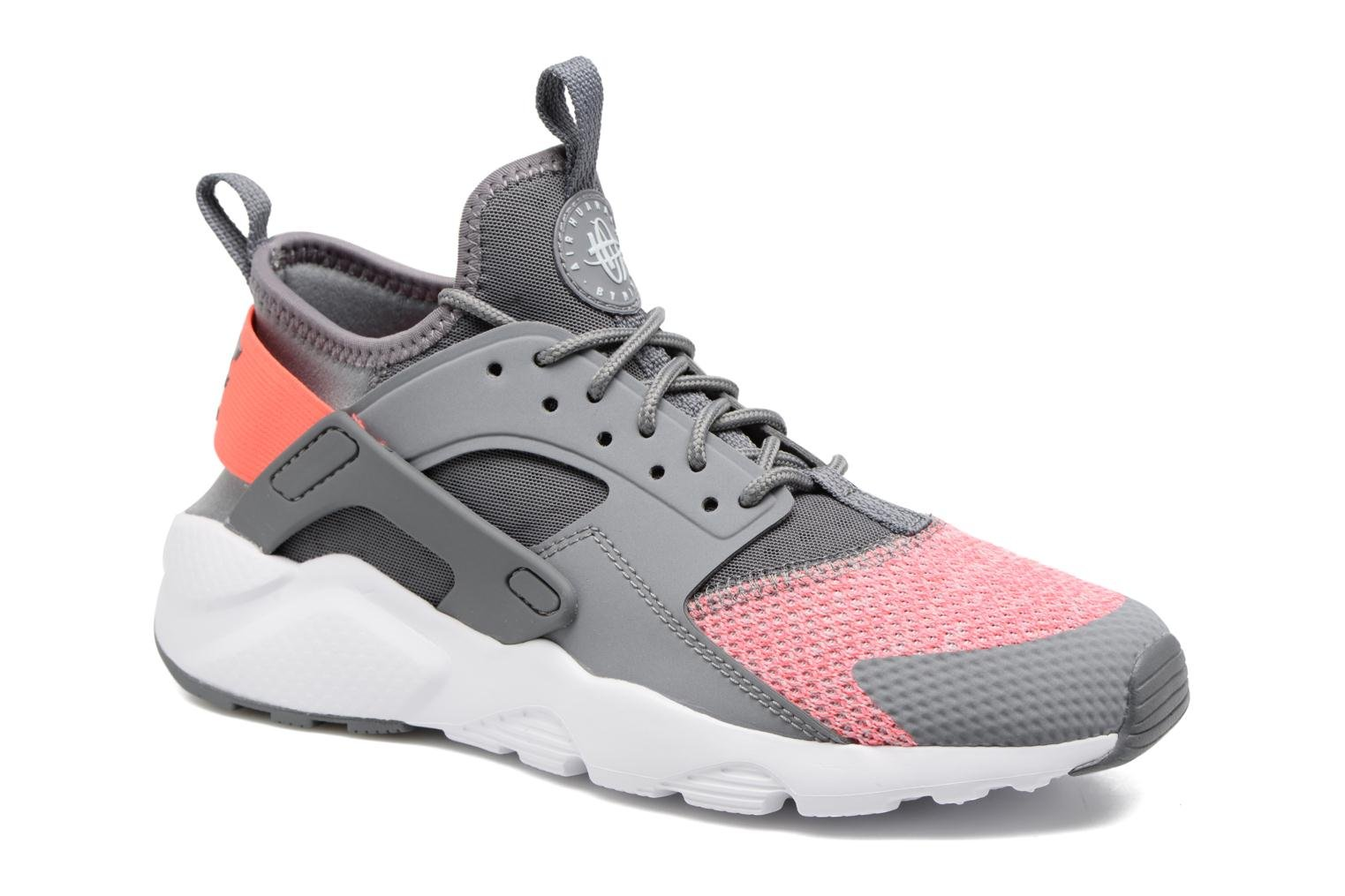 Air Huarache Run Ultra Se (Gs) Cool Grey/Hot Punch-Pure Platinum