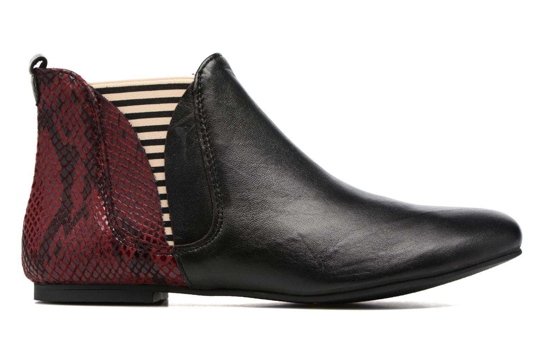 Bottines et boots Ippon Vintage Patch snake Bordeaux vue derrière