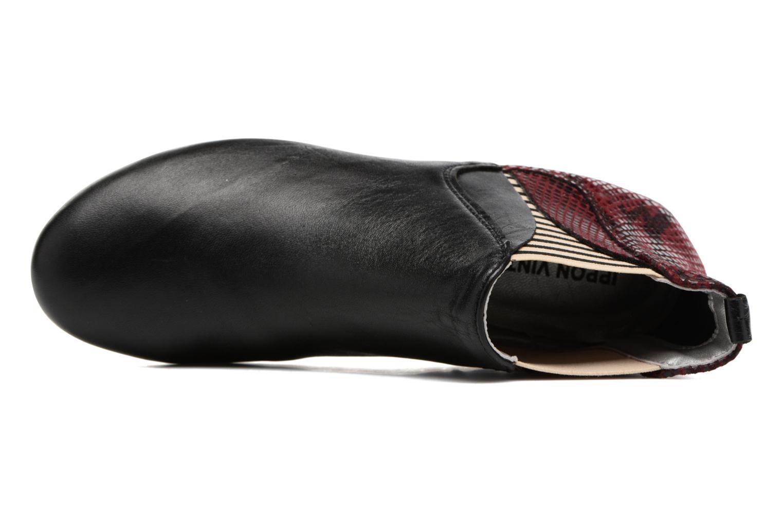 Bottines et boots Ippon Vintage Patch snake Bordeaux vue gauche