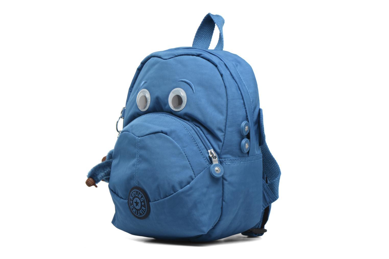 Zaini kipling FAST Mini sac à dos Azzurro modello indossato