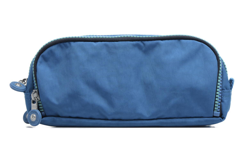 Scolaire kipling GITROY Trousse 3 compartiments Bleu vue face