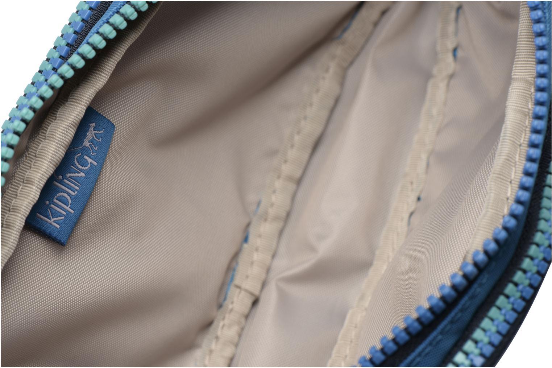 Scolaire kipling GITROY Trousse 3 compartiments Bleu vue derrière