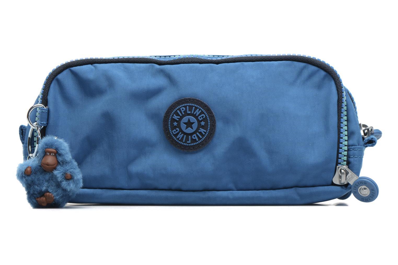 Scolaire kipling GITROY Trousse 3 compartiments Bleu vue détail/paire