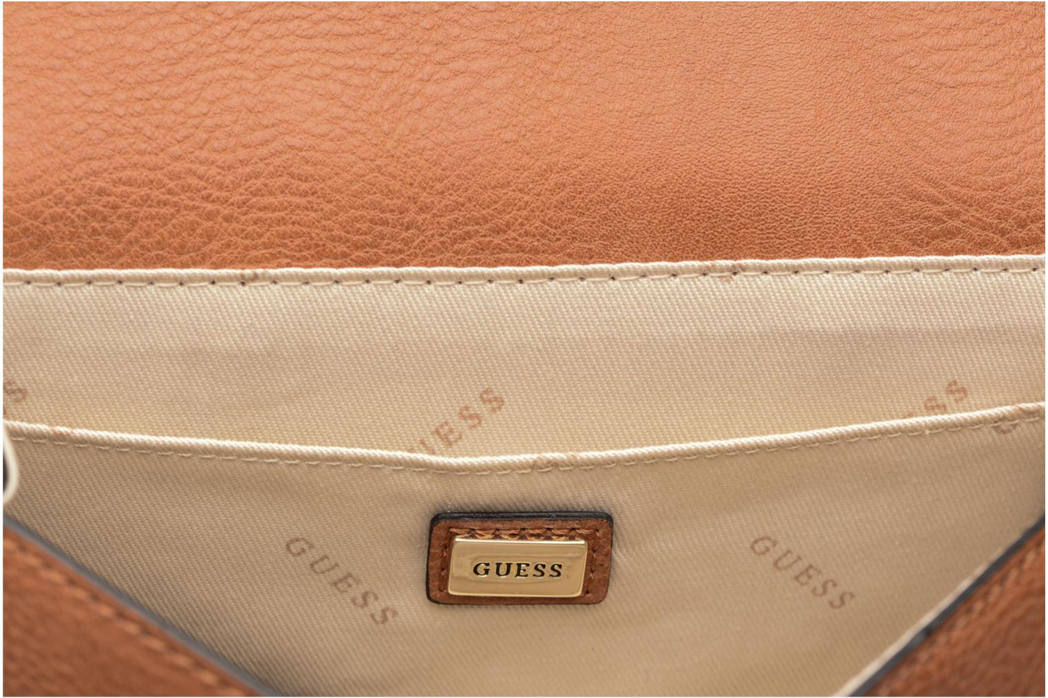 Sacs à main Guess Crossbody Mooney Marron vue derrière