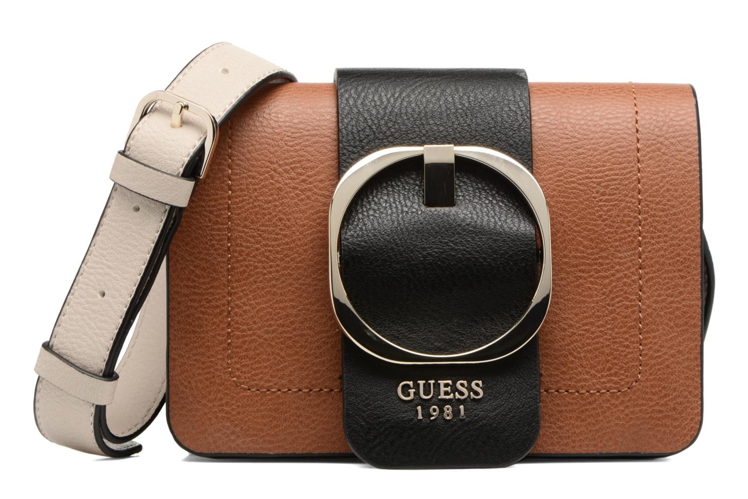 Sacs à main Guess Crossbody Mooney Marron vue détail/paire