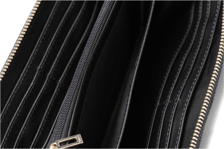 Petite Maroquinerie Guess Portefeuille Large Zip Around Nissana Noir vue derrière
