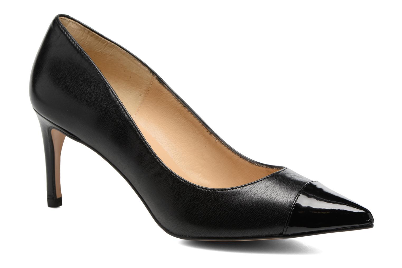High heels Georgia Rose Sophia Black detailed view/ Pair view