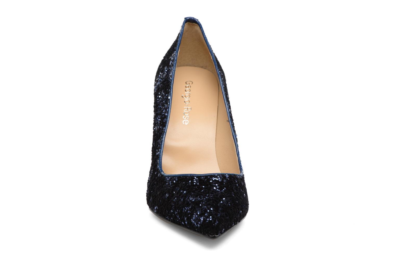 Escarpins Georgia Rose Shiny Bleu vue portées chaussures