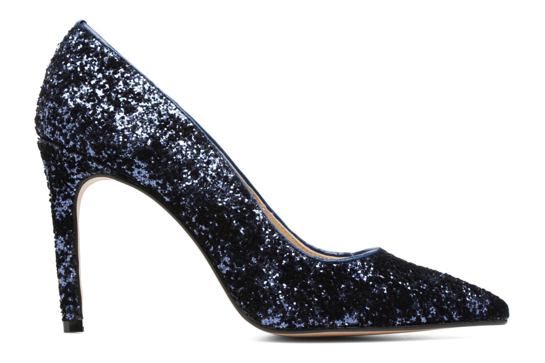 High heels Georgia Rose Shiny Blue back view