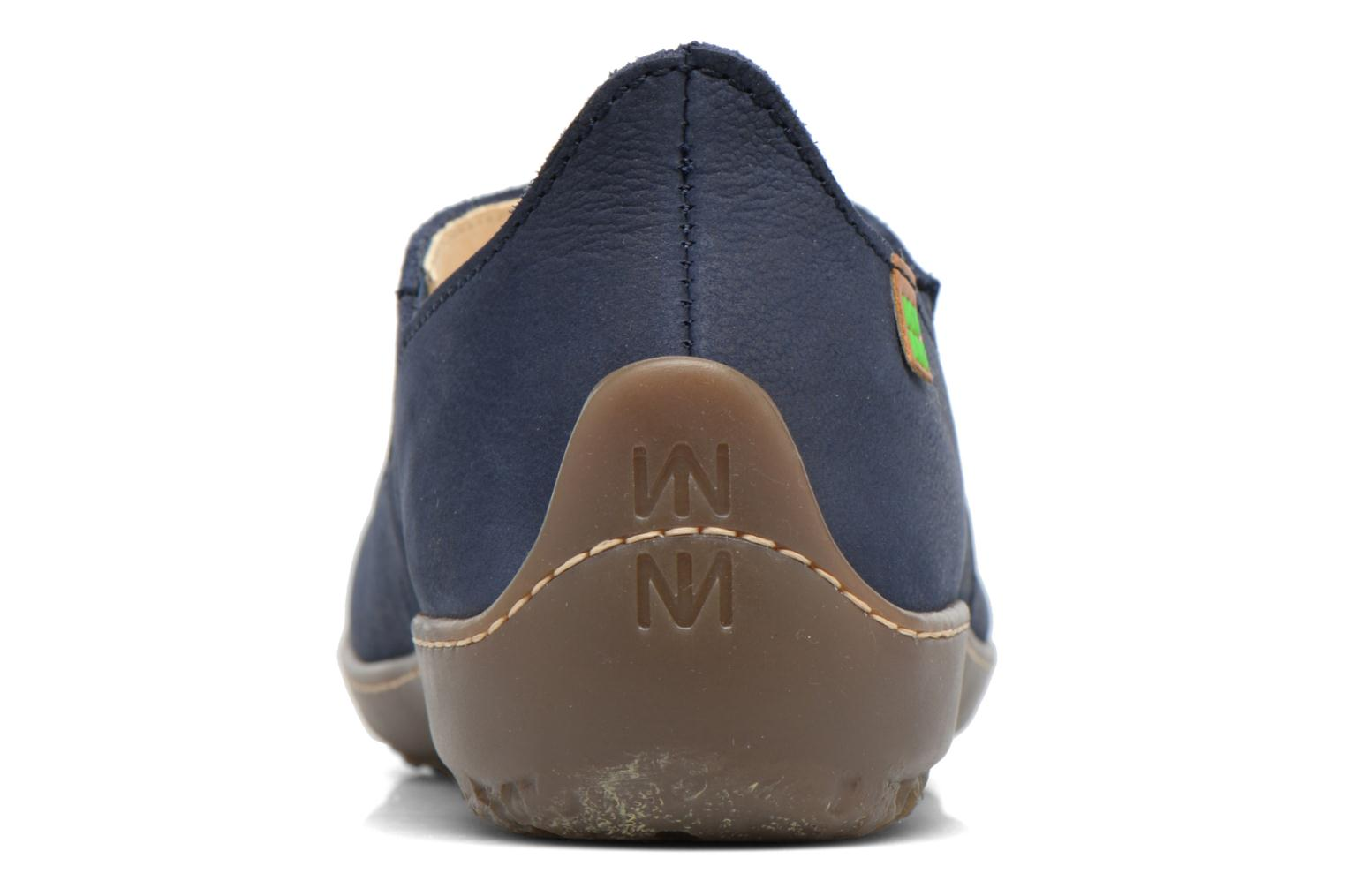 Loafers El Naturalista Bee ND80 Blue view from the right