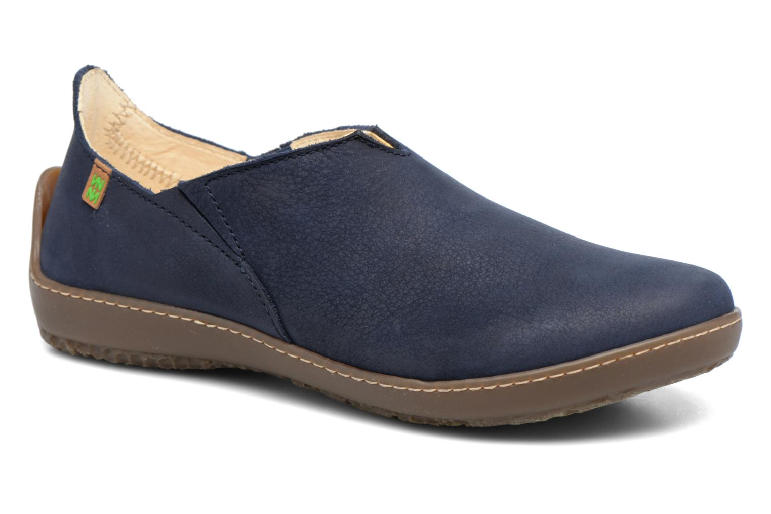 Loafers El Naturalista Bee ND80 Blue detailed view/ Pair view