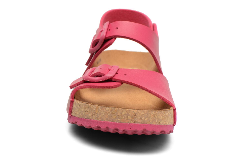 Sandales et nu-pieds El Naturalista Waraji NE57 Rose vue portées chaussures