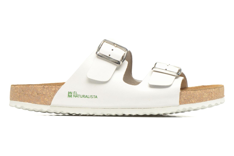Sandales et nu-pieds El Naturalista Waraji NE30 M Blanc vue derrière