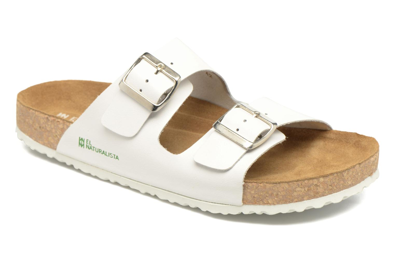 Sandales et nu-pieds El Naturalista Waraji NE30 M Blanc vue détail/paire