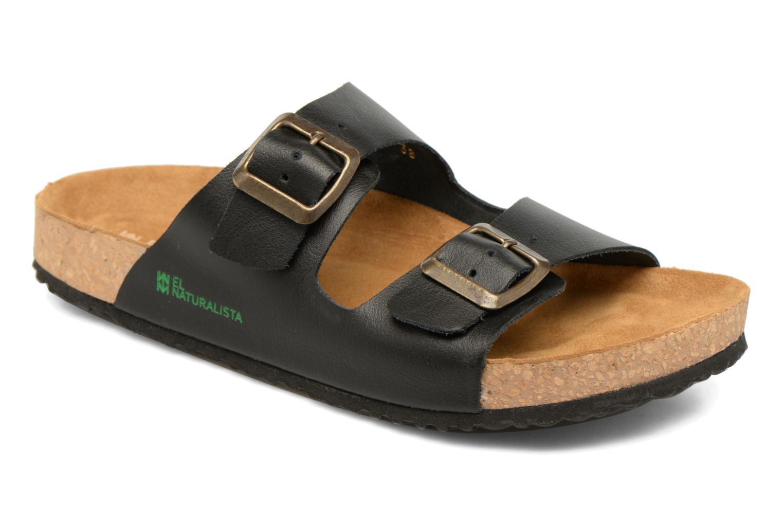 Sandales et nu-pieds El Naturalista Waraji NE30 Noir vue détail/paire