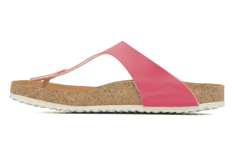 Sandals El Naturalista Waraji NE69 Pink front view