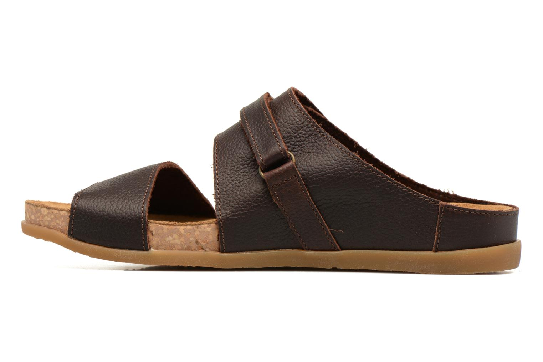 Sandales et nu-pieds El Naturalista Zumaia NF43 Marron vue face