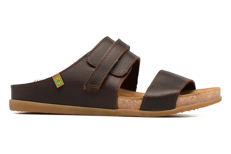 Sandales et nu-pieds El Naturalista Zumaia NF43 Marron vue derrière