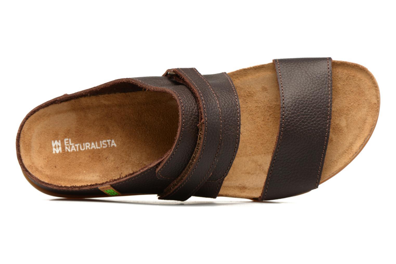 Sandales et nu-pieds El Naturalista Zumaia NF43 Marron vue gauche