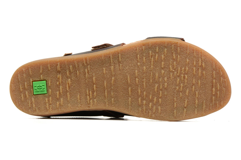 Sandales et nu-pieds El Naturalista Zumaia NF43 Marron vue haut