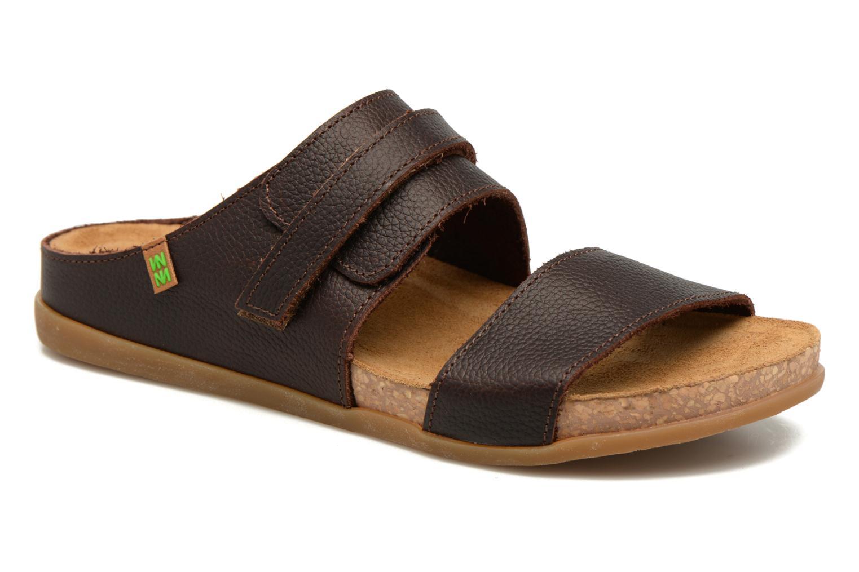 Sandales et nu-pieds El Naturalista Zumaia NF43 Marron vue détail/paire
