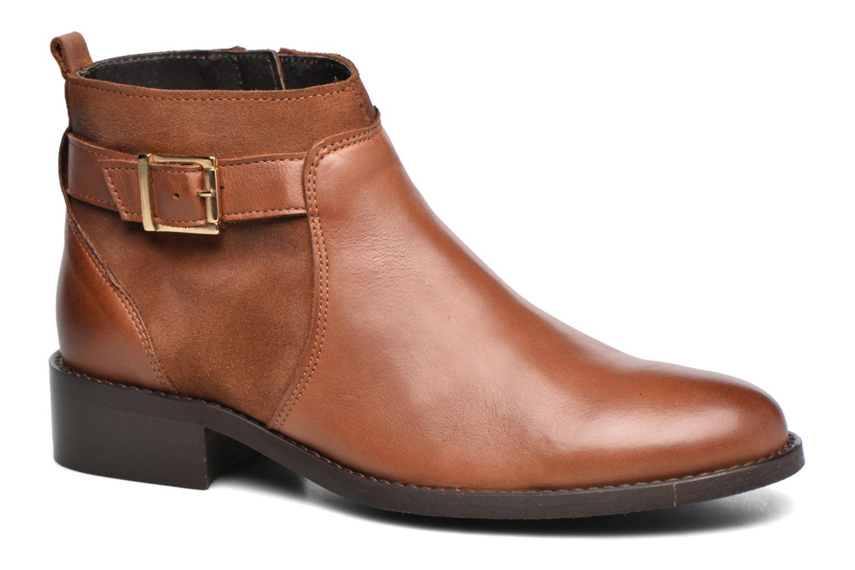 Zapatos casuales salvajes Georgia Rose Cevora (Marrón) - Botines  en Más cómodo
