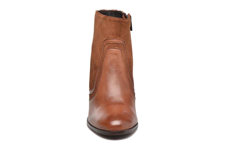 Bottines et boots Georgia Rose Cepart Marron vue portées chaussures
