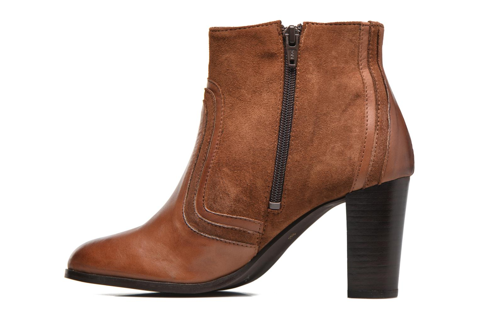 Ankle boots Georgia Rose Cepart Brown front view