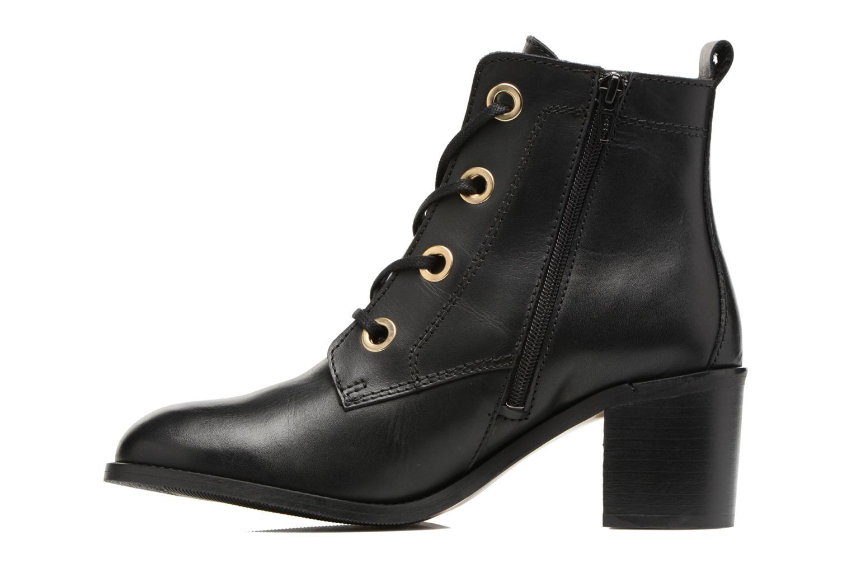 Bottines et boots Georgia Rose Celolon Noir vue face