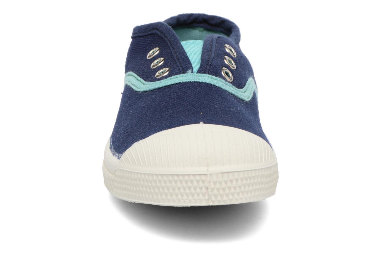 Baskets Bensimon Tennis Elly Stretch E Bleu vue portées chaussures