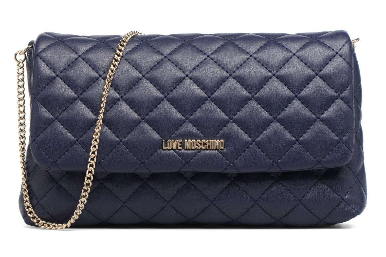 Sacs à main Love Moschino Pochette Chaine Quilted Bleu vue détail/paire