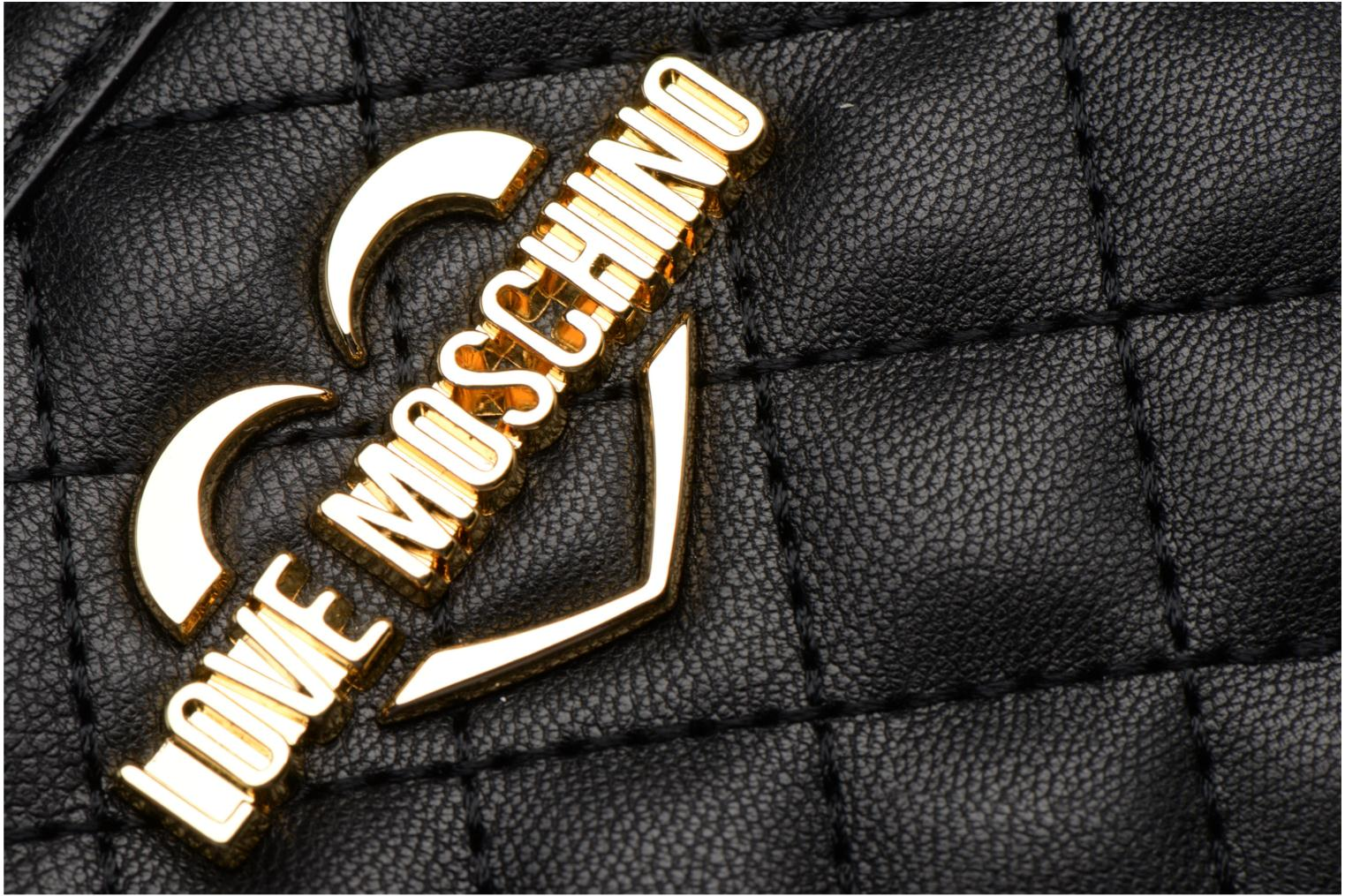 Portefeuille L Zip Around Quilted 000NERO