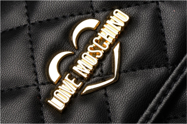 Sacs à dos Love Moschino Sac à dos Quilded Noir vue gauche