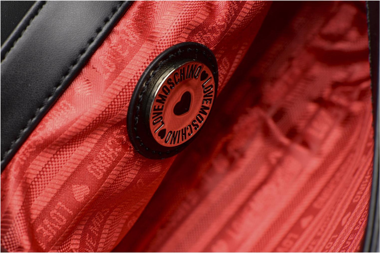 Sacs à main Love Moschino Crossbody Mix Materials Noir vue derrière