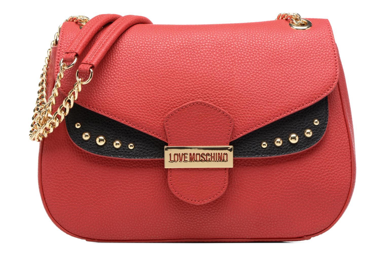 Sacs à main Love Moschino Porté épaule Double Flap Rouge vue détail/paire
