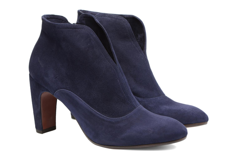 Bottines et boots Chie Mihara X-Fedora 31 Bleu vue 3/4
