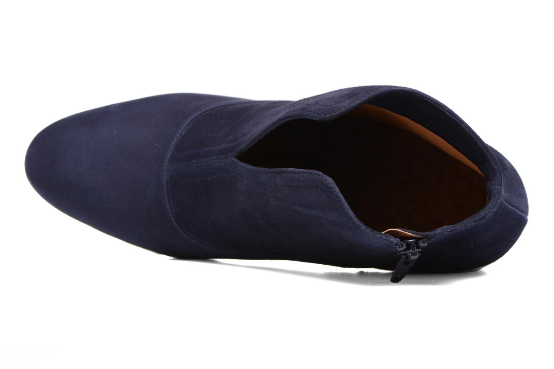 Bottines et boots Chie Mihara X-Fedora 31 Bleu vue gauche